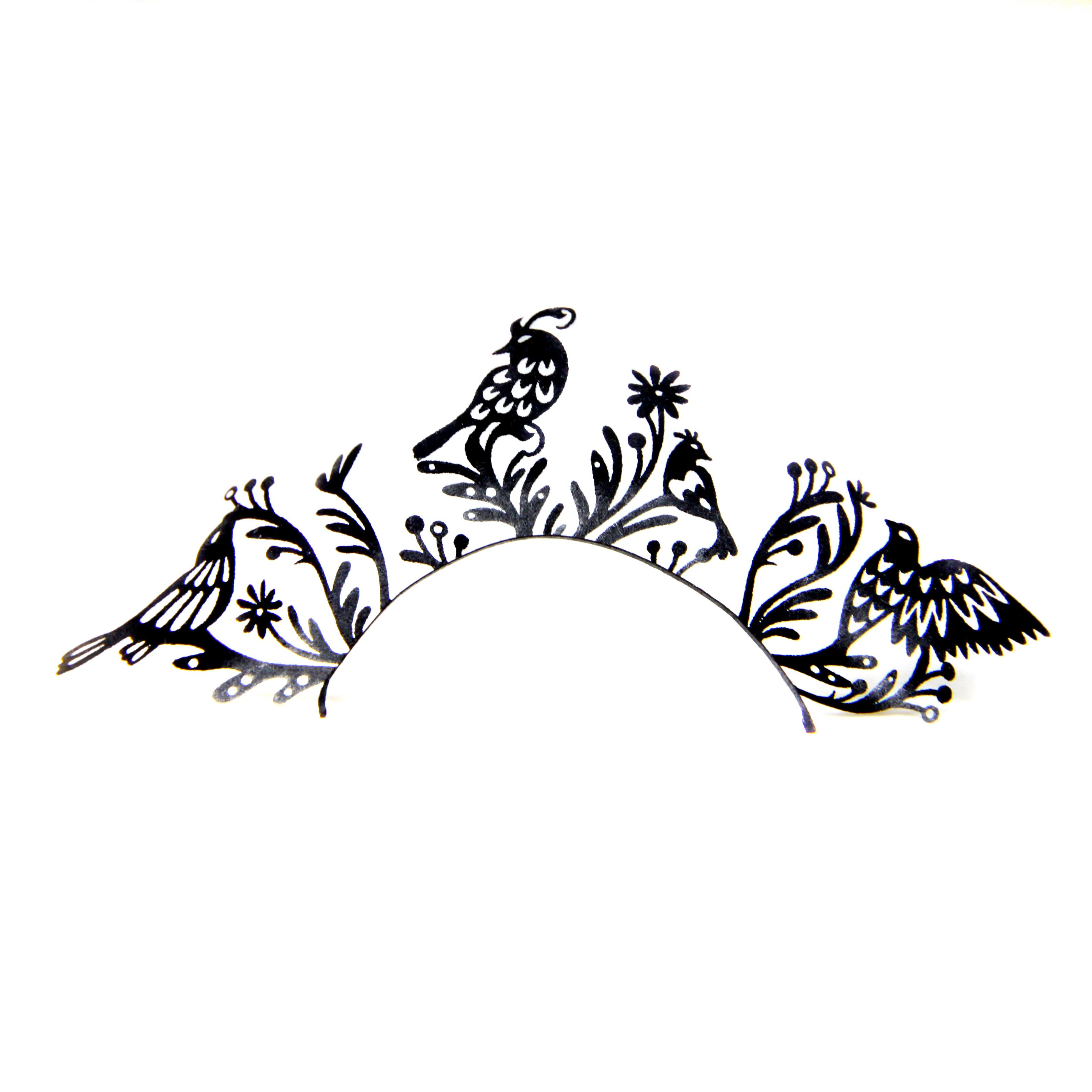 Paper Lashes Birds von LUXUSLASHES