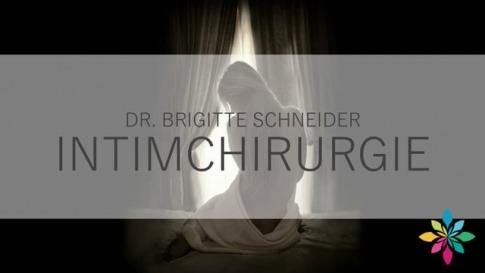 Dr. Brigitte Schneider erklärt Intimchirurgie
