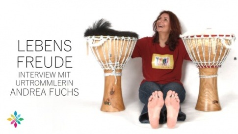 Lebensfreude durch Trommeln (Interview mit Andrea Fuchs)