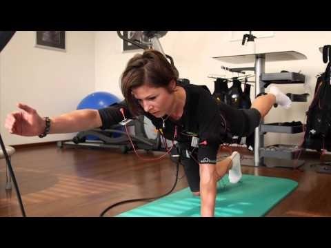 EMS-Training, Übungen mit Reizstrom