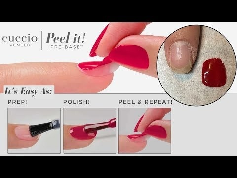Peel it! by Cuccio | Tutorial  *NEW PRODUCT*