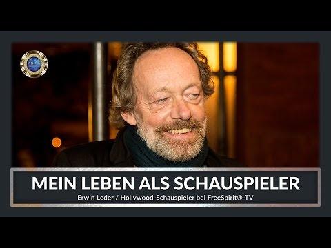 HOLLYWOOD-SCHAUSPIELER Erwin Leder / bei Free Spirit®-TV