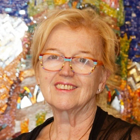 Hilde Kuchler, Jahrzehnten Künstlerin aus Leidenschaft.