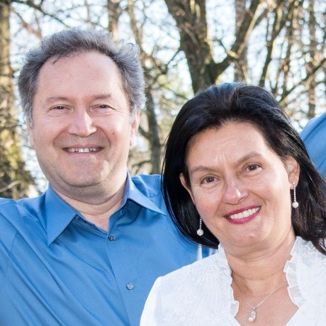 Georgi Jerkov und Tatyana Jerkova vom Institut Jerkov