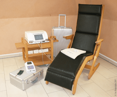 Behandlungsplatz für eine Bioresonanz