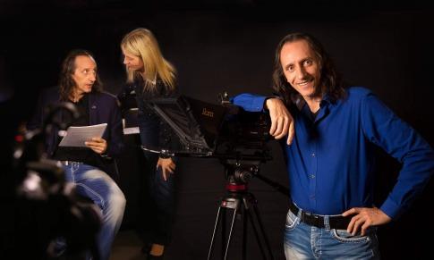 Bruno Würtenberger und Aline Brandstetter arbeiten zusammen