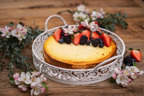 Cheesecake mit Beeren von natusweet