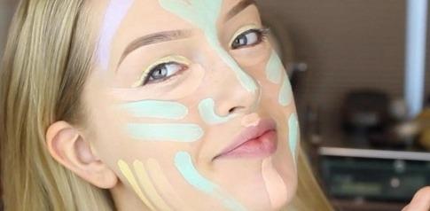 Tiana Cosmetics schminkt sich nach dem neuen Beauty Trend Colour Correcting