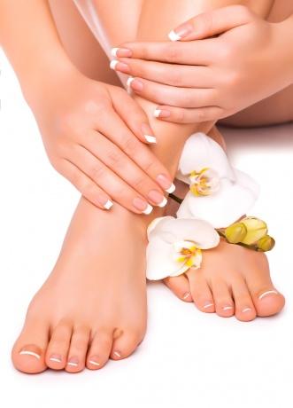 Schöne Füße durch Fußpflege