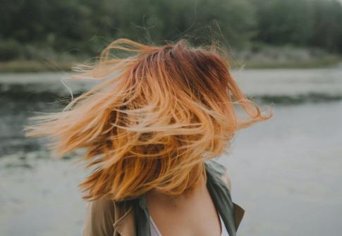 Haare in verschiedenen Farben