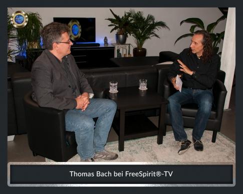 Thomas Bach sitzt mit Bruno Würtenberger bei Free Spirit TV