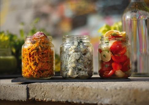 Rohkost Gericht Gurkensalat mit Dille von Michaela Russmann