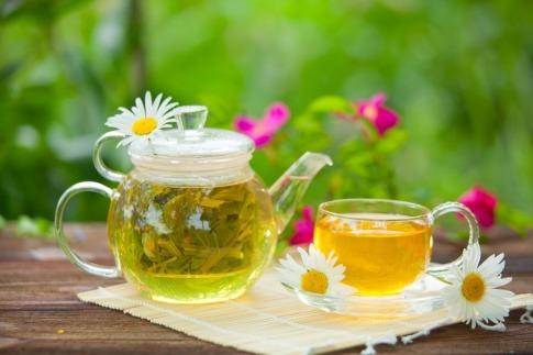 Kamille Wirkung als Tee