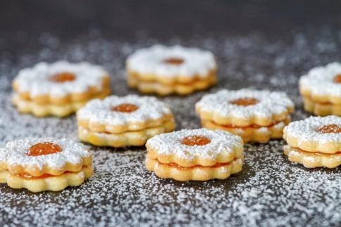 Kekse als Leckerein im Winter