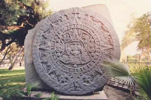 Ein Maya-Kalender im September