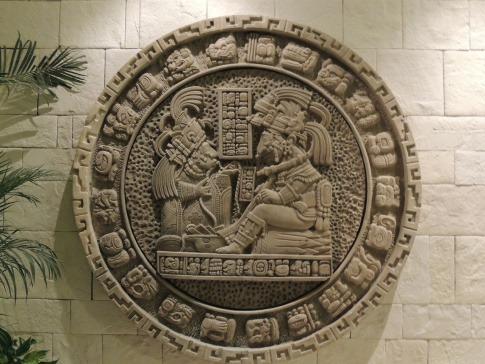 Maya Kalender aus Stein