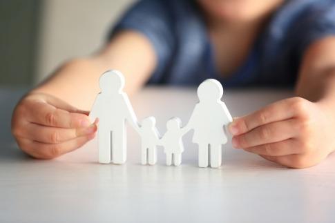 Figuren einer Familie