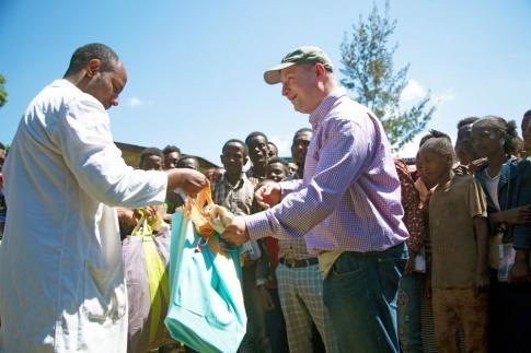 Hartwig Kirner von Fairtrade Österreich im Einsatz für Menschenrechte