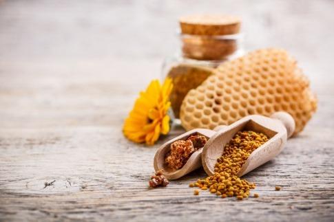 Propolis und Honig