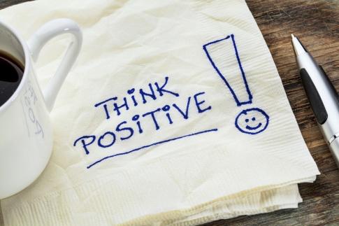 durch positives Denken zu mehr Geld und Glück