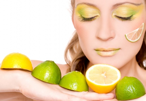 Zitronen als Zutat in Kosmetikprodukten