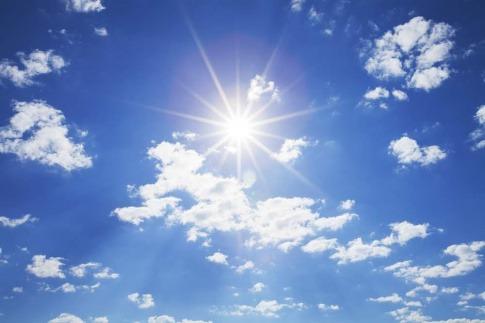 Das Sonnenlicht besteht zu einem geringen Teil aus UV Strahlen.