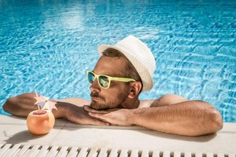 Sonnenschutz auch für die Kopfhaut