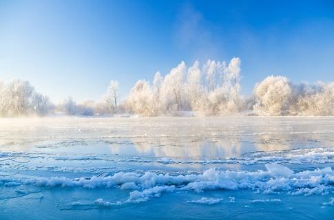 Winter in TCM ist Element Wasser