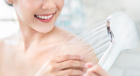 Wasserverbrauch beim Duschen