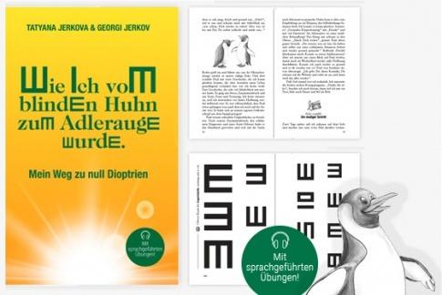 """Buch """"Wie ich vom blinden Huhn zum Adlerauge wurde"""" von Tatyana und Georgi Jerkov"""
