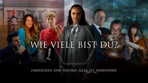 Auf dem Filmplakat zu Wie viele bist du? ist Bruno Würtenberger in der Mitte abgebildet
