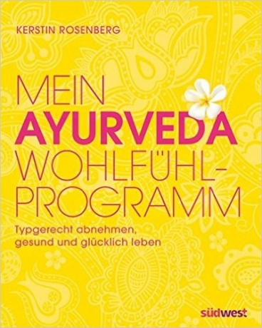 Buch Mein Ayurveda Wohlfühl Programm von Kerstin Rosenberg