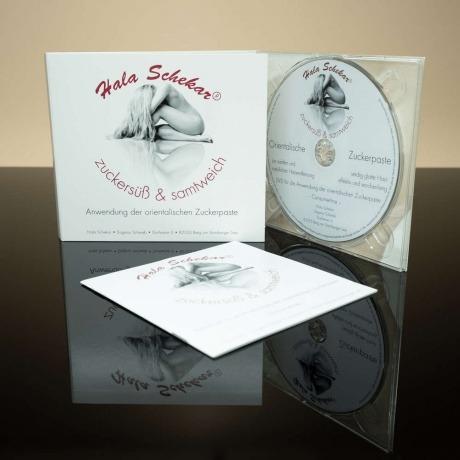 DVD Anwendung mit Handbuch für Sugaring von Hala Schekar