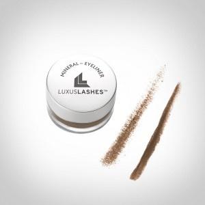 Mineralkosmetik Eyeliner Braun von LUXUSLASHES