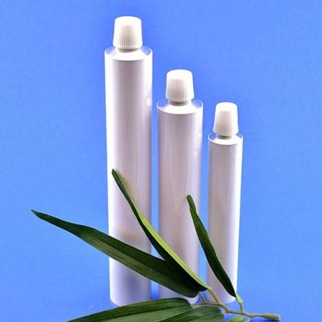 Aluminiumtuben für Zahnpasten von Kosmetikmacherei