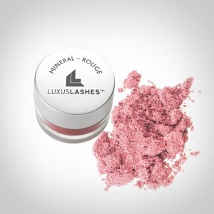 Luxuslashes Mineral Make Up Rouge rose