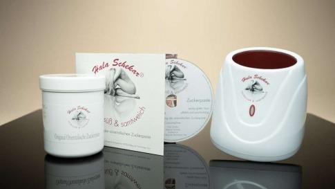 Sugaring Starter Set von Hala Schekar