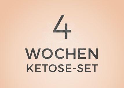 4 Wochen Ketose Set von Tisanoreica