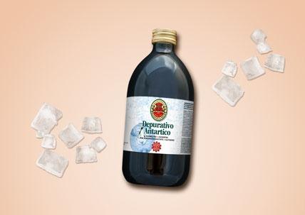 Das Produkt Antartico von Tisanoreica ist auf einem hellen Hintergrund