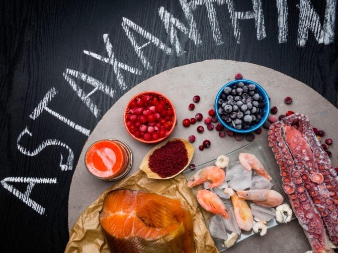 Lebensmittel mit Astaxanthin