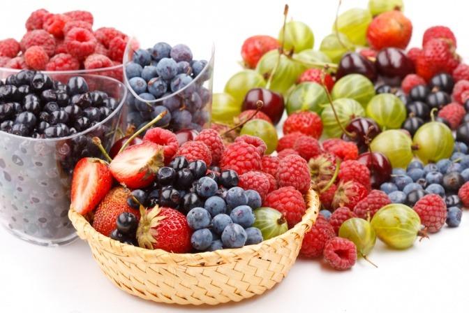 Verschiedene Beerensorten