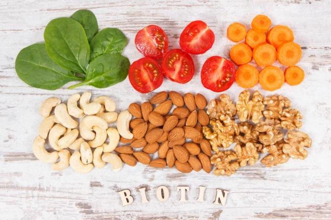 Lebensmittel in denen Biotin vorkommt