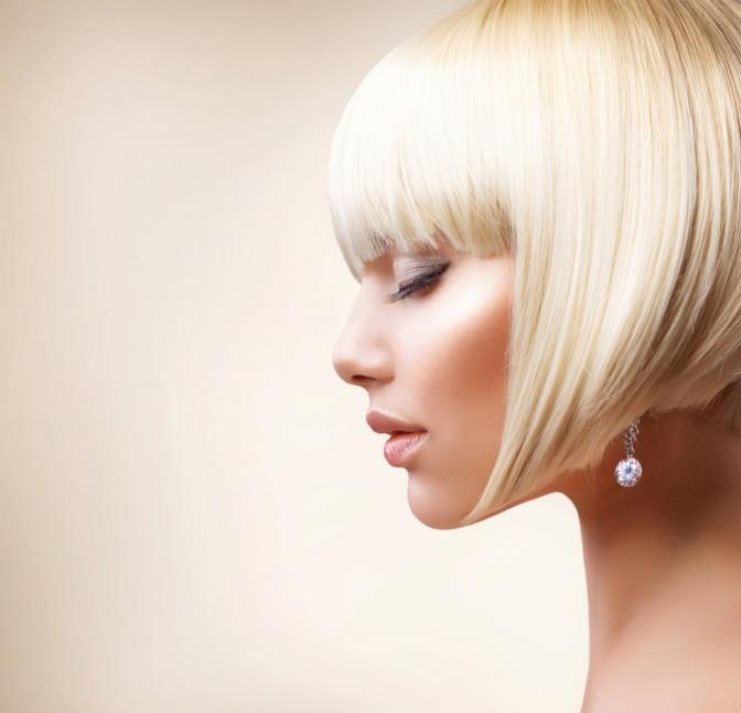 Was sind die haarfarben trends blond 2016 2017 - Bob silberblond ...