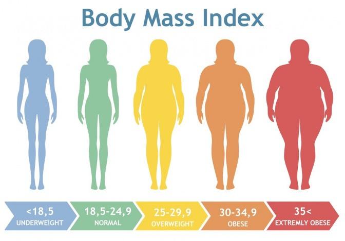 Der Body-Mass-Index gibt Aufschluss über das eigene Gewicht.