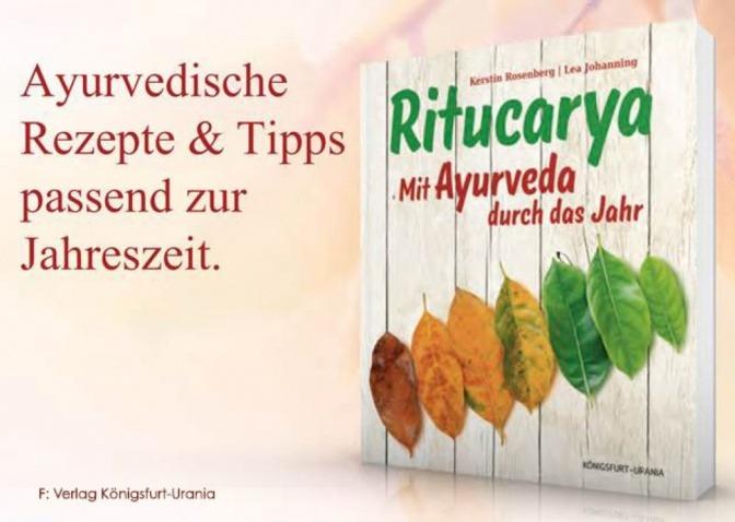 Buchcover Ritucarya - Mit Ayurveda durch das Jahr