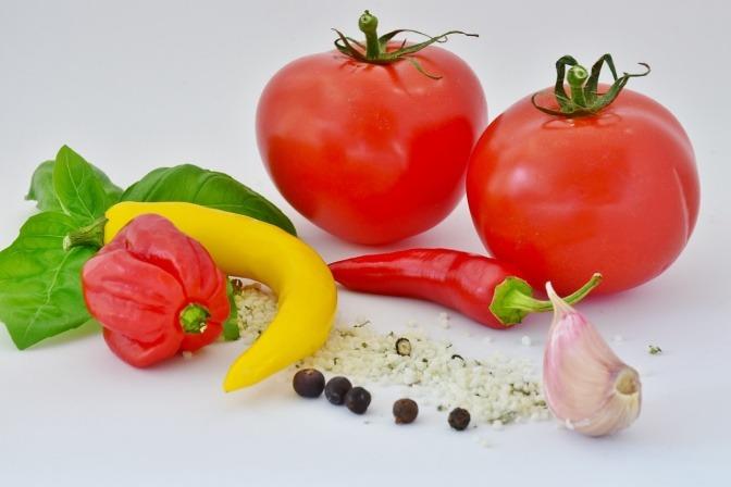 Chili, Tomaten und Knoblauch