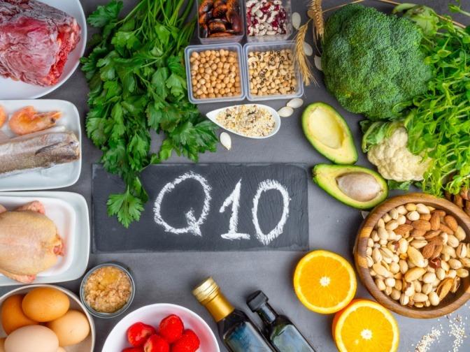 Lebensmittel mit Q10