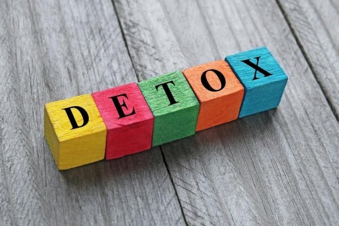 Detox ist gut für unsere Gesundheit.