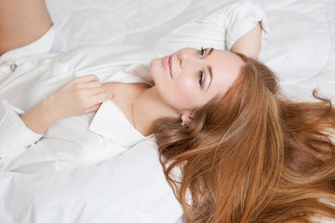 Tönen mittelblond blondierte haare Haare rosa