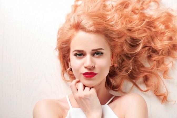 Blondieren rot braune ohne haare färben haare aufhellen